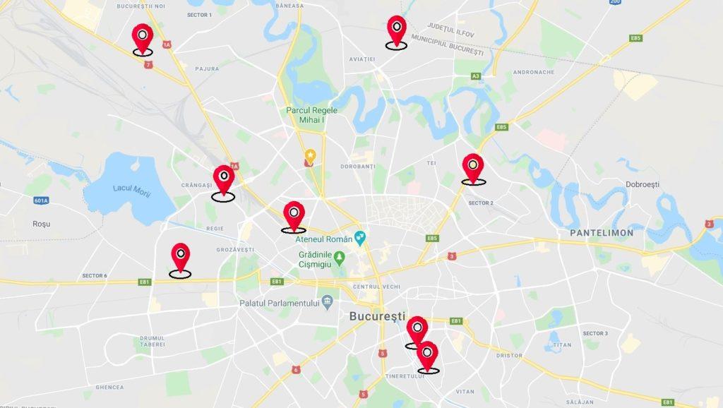 Cazare Muncitori în Bucuresti - Ilfov - Sectorul 1,2,3,4,5,6 Aproape de Metrou Cazare Personal Cazare Angajati